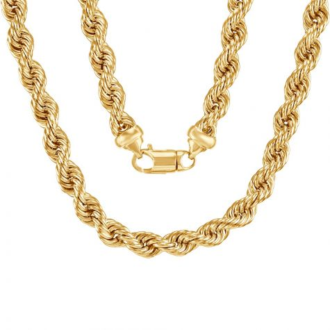 """9ct Yellow Gold Extra Large Rope Chain - 10mm - 28"""""""