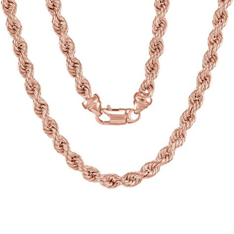 """9ct Rose Gold Extra Large Rope Chain - 8mm - 28"""""""