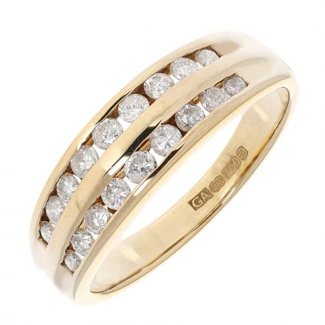 Pre-Owned 18ct Gold 0.30ct Diamond Eternity Ring