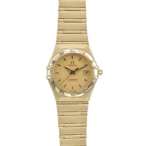 Omega Constellation 18k Gold ladys Automatic Watch - Petite Size