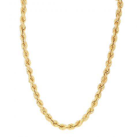 "9ct Yellow Gold Long Italian Rope Chain - 30"" - 9mm"