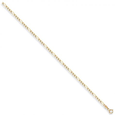"9ct Yellow Gold Solid Italian Made Figaro Chain - 2.75mm - 16"" - 30"""