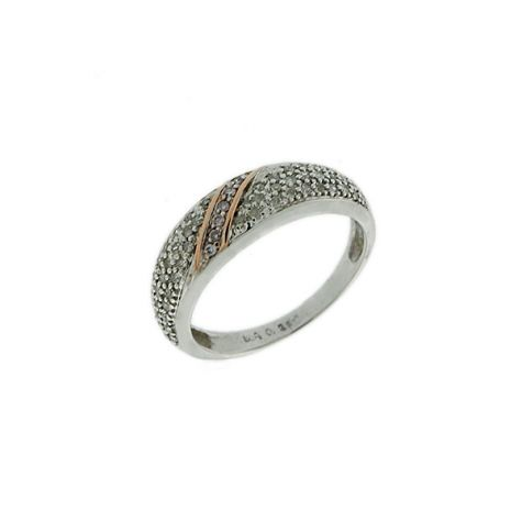 Pre-Owned 9ct White Gold 0.26ct Diamond Bombay Ring