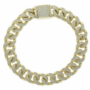Iced Out CZ Bracelet
