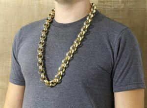 Mens Belcher Chain 34 Inch