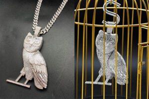 Drake - OVO Owl Chain - Hatton Jewellers