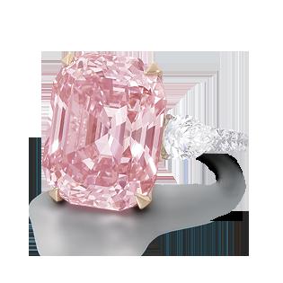 The Graff Pink Ring - £35 Million