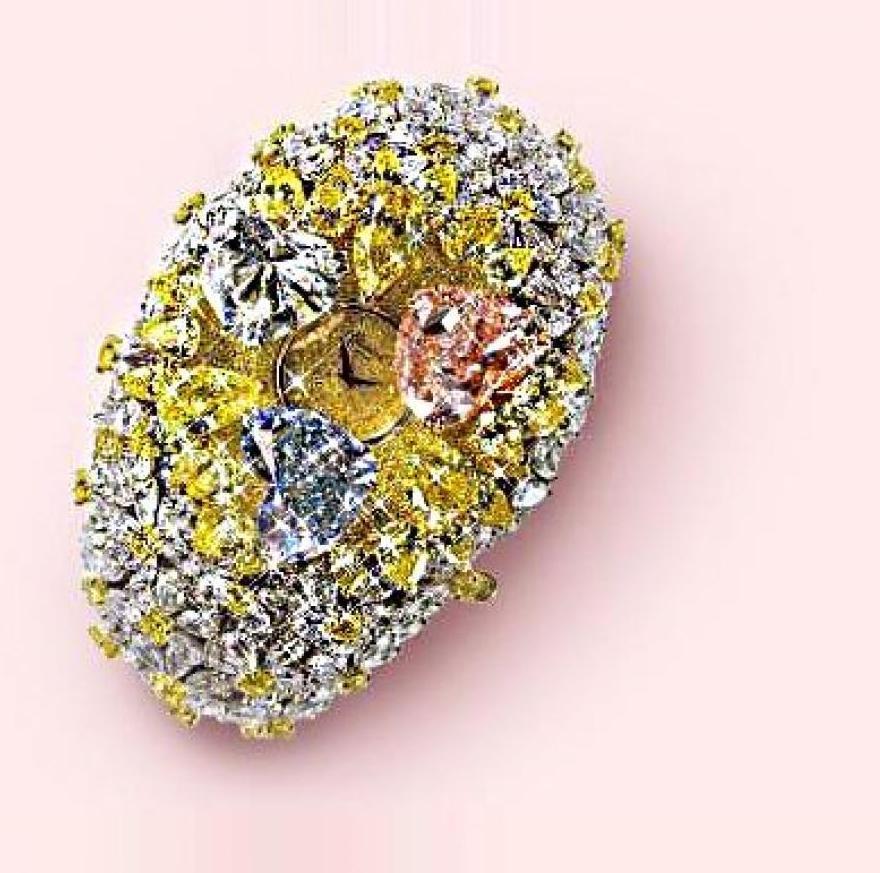 Chopard's 201-Carat Watch - £20 Million