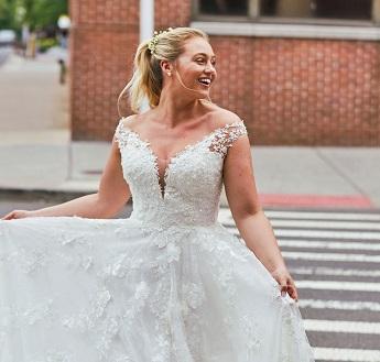A-Line Winter Wedding Gown - Hatton Jewellers