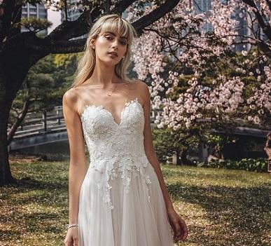 Floral Winter Wedding Dress - Hatton Jewellers