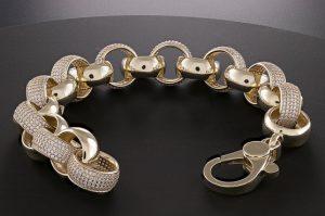 Iced Out Belcher Bracelet Hatton Jewellers