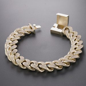 Iced Out Miami Cuban Link Bracelet