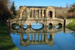 Bristol - The Palladian Bridge at Prior Park, Bath