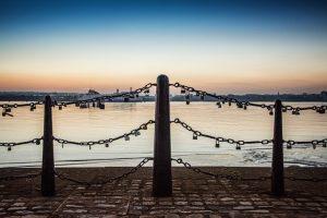 Liverpool - Albert Docks - Love Locks