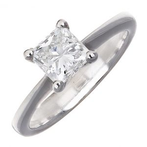 18ct Gold 1.04ct Diamond Solitaire Engagement Ring
